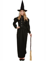 Adult Halloween Classic Witch Fancy Dress Costume