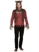 Adult Halloween Werewolf Fancy Dress Costume