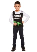 Halloween Zombie Task Force Vest Fancy Dress Costume