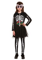 Halloween Girls Day Of The Dead Costume