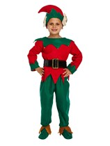 Children's Christmas Elf Fancy Dress Costume