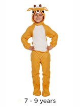 Christmas Reindeer Fancy Dress Costume 7 - 9 yrs