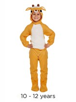 Christmas Reindeer Fancy Dress Costume 10 - 12 yrs