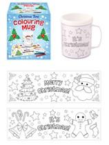 Colour your Own Christmas Mug