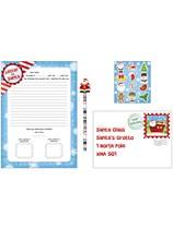Christmas Letter to Santa Set