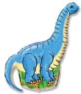 "Diplodocus Dinosaur 43"" Foil Balloon (Loose)"