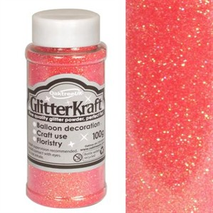 Glitter Kraft Sugar Pink Powder 100g