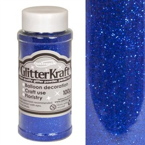 Glitter Kraft Blue Powder 100g