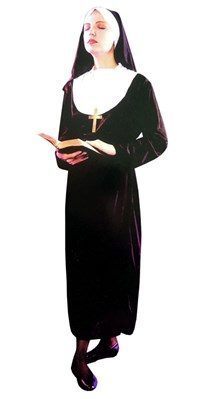 Adult Nun Fancy Dress Costume
