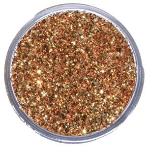 Snazaroo Red Gold Face Painting Glitter Dust 12ml pot