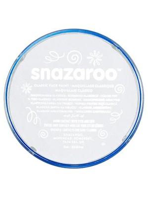 Snazaroo Face Paint Classic White 18ml pot