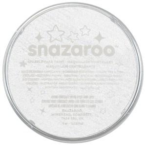 Snazaroo Face Paint Sparkle White 18ml pot