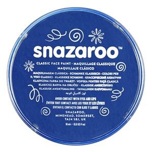 Snazaroo Face Paint Classic Royal Blue 18ml pot
