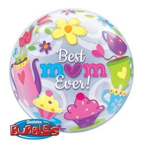 "22"" Best Mum Ever Bubble Balloon"