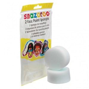 Snazaroo Face Painting High Density Sponges 2pk
