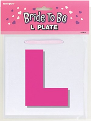 Hen Party Pink L Plate