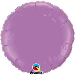 "Spring Lilac 18"" Round Foil Balloon"