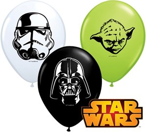 "Star Wars 5"" Latex Balloons 100pk"