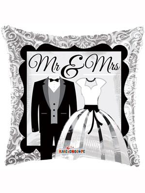 "Mr & Mrs 18"" Wedding Foil Balloon"