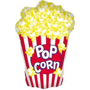"Popcorn 38"" Supershape Foil Balloon"