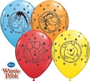 "Winnie the Pooh & Friends 11"" Latex Balloons 25pk"