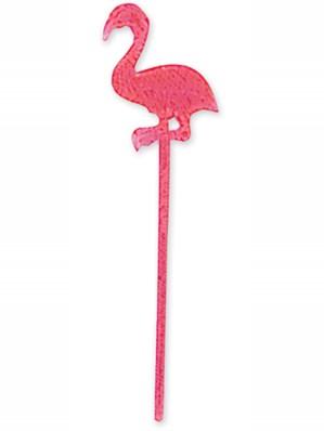 Flamingo Plastic Drinks Picks 24pk