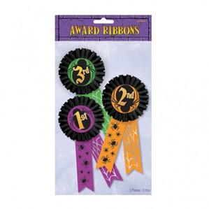 Halloween Award Ribbons 3pk