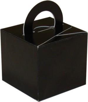 Balloon Weight/Gift Boxes Black - 10pk