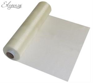 Ivory Organza Roll - 25M