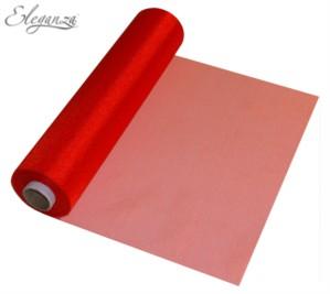 Red Organza Roll - 29cm x 25M