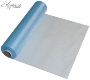 Light Blue Organza Roll - 25M
