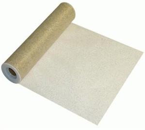 Metallic Gold Tulle Roll - 30.50cm x 22.9m