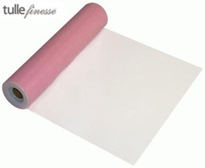 Light Pink Tulle Roll - 30.50cm x 22.9M