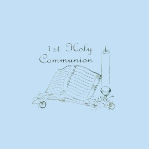 1st Holy Communion Blue Napkins - 15pk