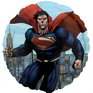 Superman Man Of Steel Foil Balloon 18""