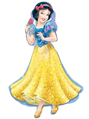 Snow White Supershape Foil Balloon