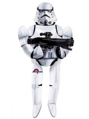 "Star Wars Storm Trooper 70"" AirWalker Foil Balloon"