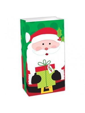 Santa Claus Christmas Paper Sweet Bag