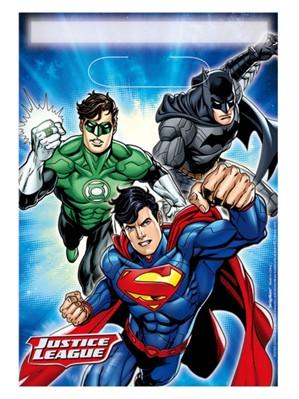 Justice League Party Bags 8pk