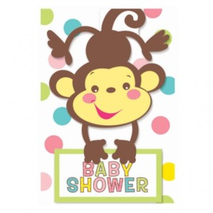 Fisher Price Baby Shower Invitations & Envelopes 8pk