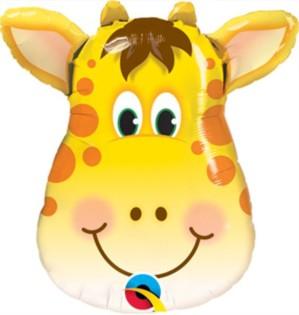 """Jolly Giraffe Air Fill Foil Balloon 14"""""""