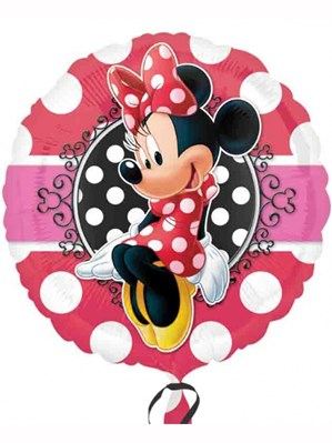 "Minnie Mouse Portrait 18"" Foil Balloon"
