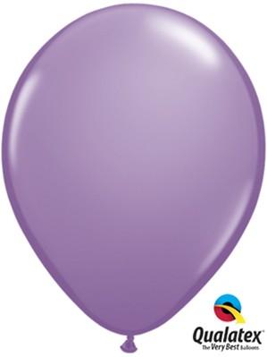 """11"""" Spring Lilac Latex Balloons 100pk"""