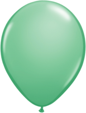 "11"" Wintergreen Latex Balloons 100pk"