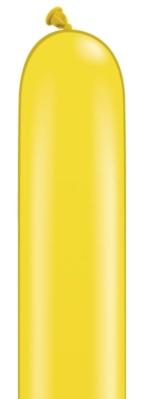 "260Q (2"" x 60"") Citrine Yellow Latex Modelling Balloons 100pk"