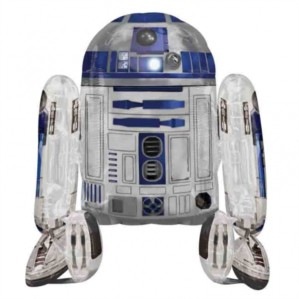 "Star Wars R2D2 38"" Airwalker Foil Balloon"