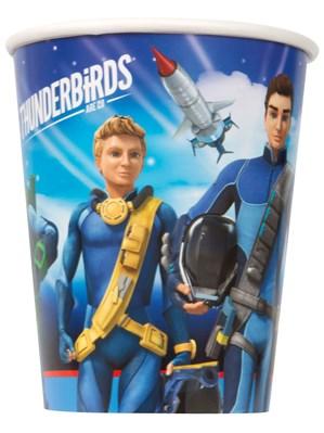 Thunderbirds Paper Cups 8pk