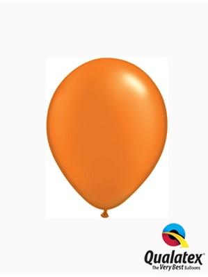 "5"" Pearl Mandarin Orange Latex Balloons 100pk"
