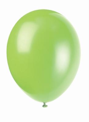 """12"""" Neon Lime Latex Balloons - 50pk"""