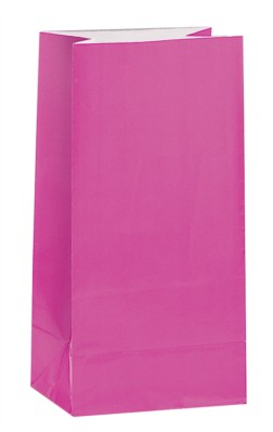 Cerise Paper Sweet Bags 12pk